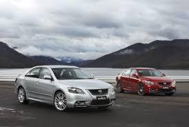 toyota go car toyota aurion trd camry based sedan with a 329 hp supercharged v6