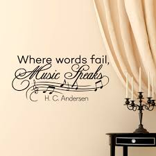 music notes wall decals quotes vinyl lettering where words details music notes wall decals