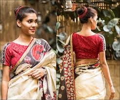 hairstyles for boat neckline designer boat neck blouse designs for sarees