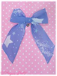 ribbon hair clip sky ribbon hair clip