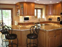 Dark Kitchen Cabinets With Light Granite Light Granite Kitchen Amazing Deluxe Home Design