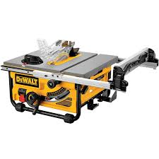 Table Saw Black Friday Dewalt Dw745 10 Inch Compact Job Site Table Saw With 20 Inch Max