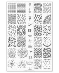 uberchic nail stamp plates collection 9 includes 3 unique nail