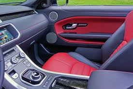 vintage land rover interior 2017 range rover evoque convertible road test review carcostcanada