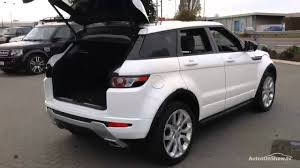 land rover range rover 2014 land rover range rover evoque sd4 dynamic lux white 2015 youtube