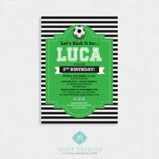 free printable soccer birthday party invitations etiquetas