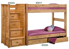 Stackable Bunk Beds K U0026r Furniture Twin Twin Stackable Bunk Bed Unfinished