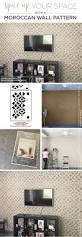 Accent Wall Patterns by Spice Up Your Space With A Moroccan Wall Pattern Stencil Stories
