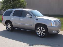 2008 used cadillac escalade awd 4dr at signature autos inc serving