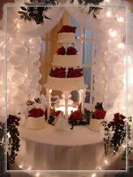 Wedding Cake Table Decorations  Cake Table Gazebo Porvides A - Cake table designs