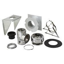 shop chimney pipe accessory kits at lowes com