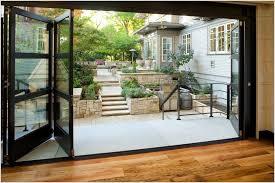 Accordion Glass Patio Doors Cost Inspiring Accordion Glass Doors And Contemporary Accordion Glass
