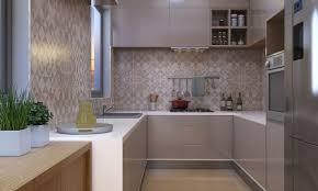 Designer Modular Kitchen Livspace