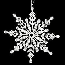 white lace snowflake ornament c 1186241 buffalo trader