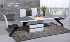 Grey Dining Table And Chairs 57 High Dinner Table Set Dining Table High End Dining Tables