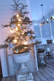 elevate your christmas tree to new heights using a pedestal