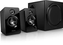 multimedia speakers 2 1 spa7355 12 philips