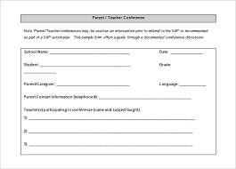 parent teacher conference letter u2013 aimcoach me