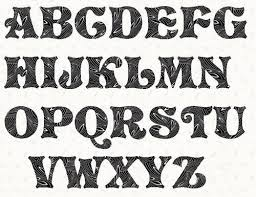 8 best images of font stencils printable free fancy alphabet