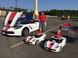 corvette power wheels pic custom corvette stingray and two matching power wheels for
