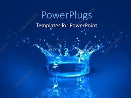 water powerpoint template powerpoint template displaying splash