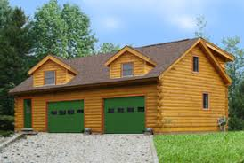 cabin plans with garage coventry log homes our log home designs cabin series the