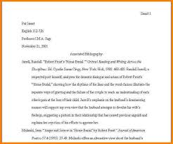 examples of annotated bibliography in apa format 6th edition