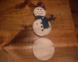 wooden snowman wooden snowman etsy