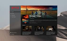 added a touch of fluent to the netflix app for windows 10 windows10