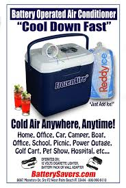 battery operated fans frozenaire battery operated air conditioner