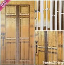 Beads Curtains Online Beaded Curtain Door Curtain Bamboo Collection At Beadedstring Com