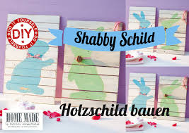 how to i shabby chic hasenschilder i deko inspirationen