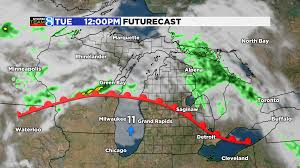 Weather Map Michigan by Summer Warmth Arrives In West Michigan Midweek Woodtv Com