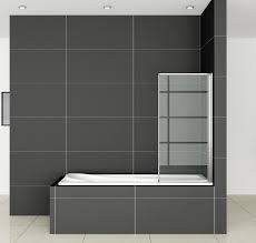 pivot shower screen glass bath screen aica bathrooms ltd