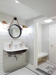funny bathroom mirror pictures best bathroom decoration nautical changing room for pool house with white ship lap and fun restoration hardware brass sconces and round mirror fun bathroom for kids and adults