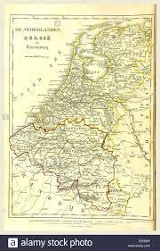 Map Netherlands Map Netherlands Belgium Stockfotos U0026 Map Netherlands Belgium