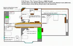 tv show apartment floor plans tv show floor plans new 10 detailed floor plans of tv show