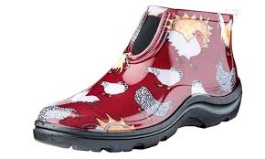 groupon s boots cozy ideas womens garden boots sloggers farm print s groupon