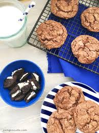 oreo chocolate cake mix cookies and cream cookies
