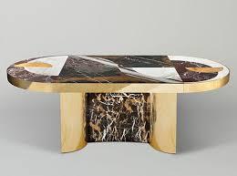 half moon dining table half moon dining table by lara bohinc for lapicida furniture
