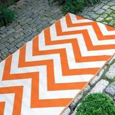 outdoor rugs for camping and mats orange white lifestyle l