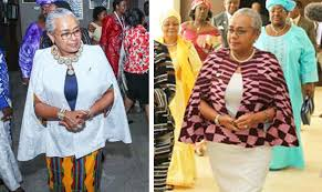 styling kenyan first lady of kenya slays all in ghana in both traditional and