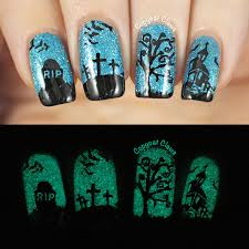copycat claws sunday stamping halloween nails