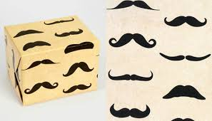 mustache wrapping paper wrapping paper things