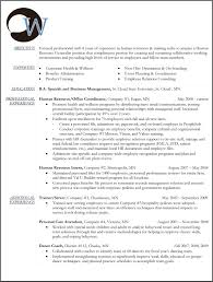 Recruitment Manager Resume Sample Sample Cover Letter For Human Resource Generalist Position Gallery