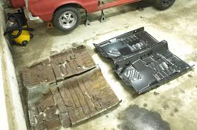 how to replace the floor in a classic mopar rod network