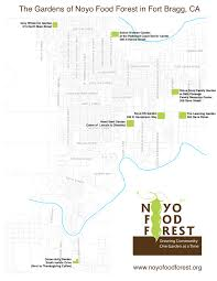 Fort Bragg Map About U2013 Noyo Food Forest