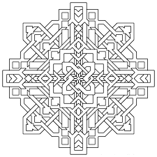 printable coloring pages for adults geometric free printable coloring pages for adults geometric optical illusion