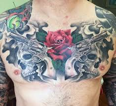 guns and roses tattoos for girls pictures to pin on pinterest
