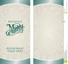menu template menu template stock vector image of creative 44840911